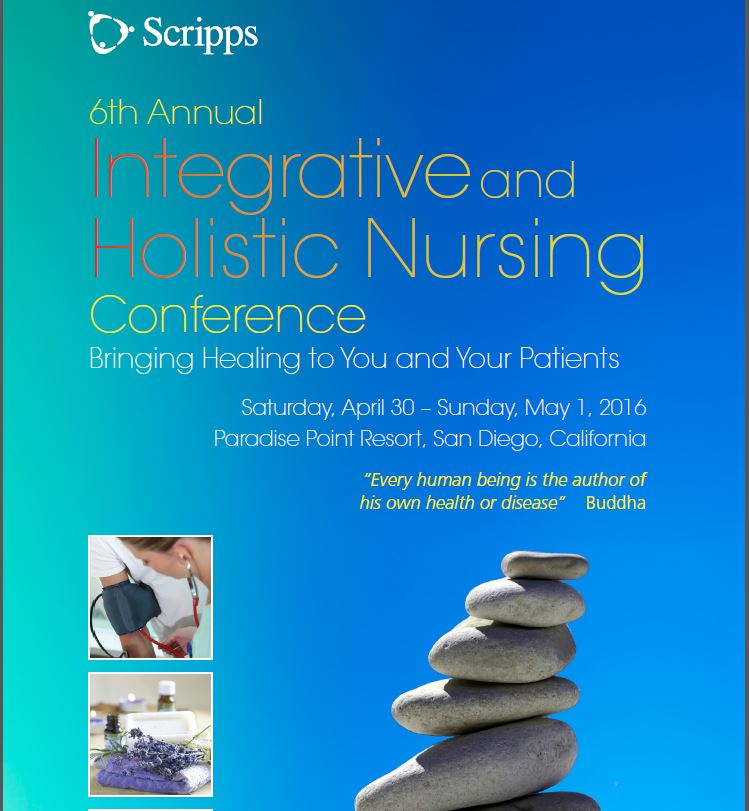 Integrative & Holistic Nursing Conference April 30-May 1, 2016