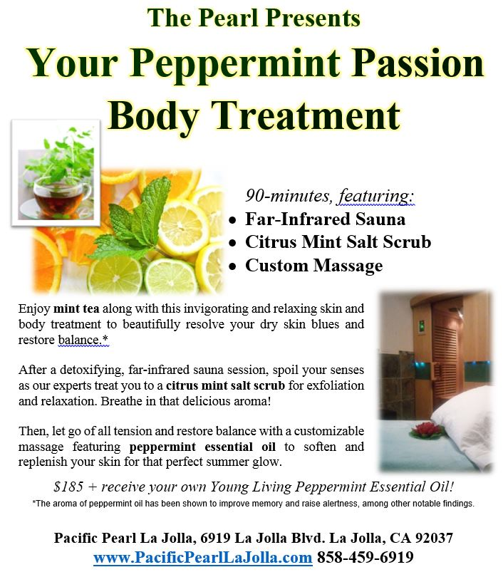 Peppermint Passion treatment