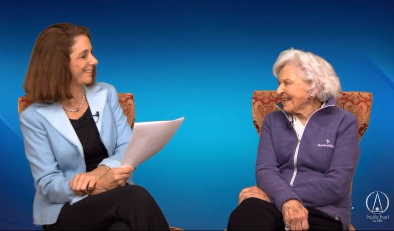Dr. Mimi Guarneri Interviews Deborah Szekely for her Pacific Pearl La Jolla Legacy Series
