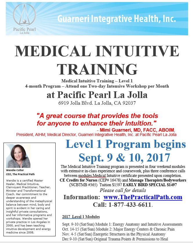 Medical Intuitive Training Level 1 - Module 4 - Pacific Pearl of La ...